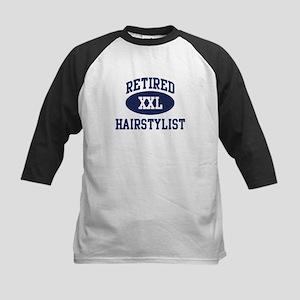 Retired Hairstylist Kids Baseball Jersey