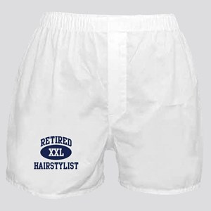 Retired Hairstylist Boxer Shorts