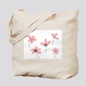 Soft Flower Tote Bag