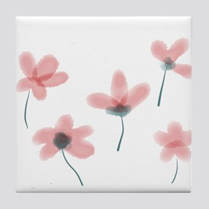 Soft Flower Tile Coaster
