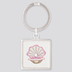 OYSTER WITH PEARL Keychains