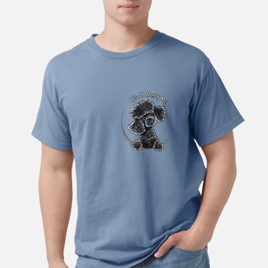Black Poodle IAAM Pocke T-Shirt