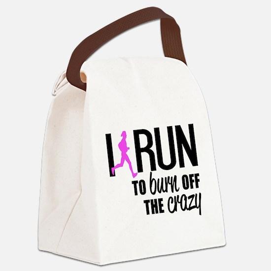 Cute Runners Canvas Lunch Bag