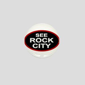 See Rock City Mini Button