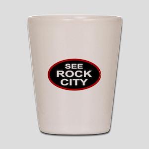 See Rock City Shot Glass