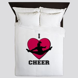 Love Cheerleading Queen Duvet