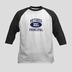 Retired Principal Kids Baseball Jersey