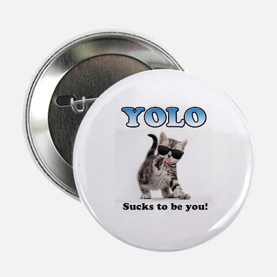 "YOLO Cat 2.25"" Button"