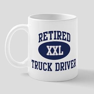 Retired Truck Driver Mug