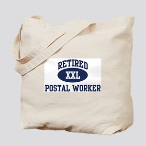 Retired Postal Worker Tote Bag