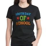 100 day of school Women's Dark T-Shirt