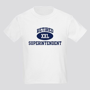 Retired Superintendent Kids Light T-Shirt