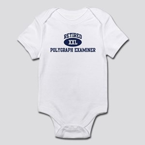 Retired Polygraph Examiner Infant Bodysuit