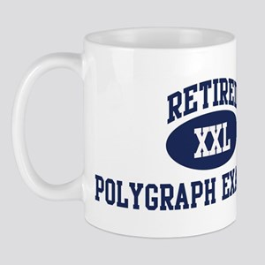 Retired Polygraph Examiner Mug