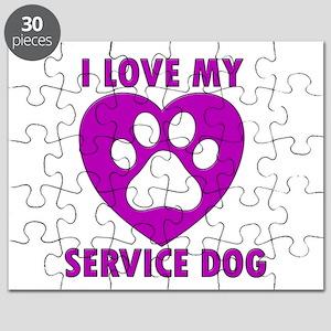 SERVICE DOG Puzzle