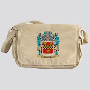 Kendall Coat of Arms - Family Crest Messenger Bag