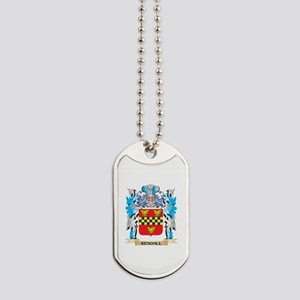 Kendall Coat of Arms - Family Crest Dog Tags