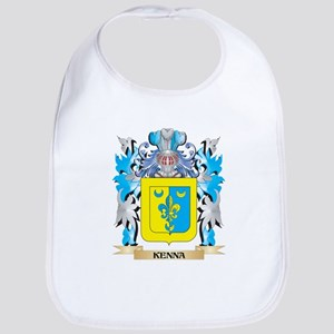 Kenna Coat of Arms - Family Crest Bib