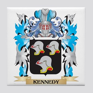 Kennedy Coat of Arms - Family Crest Tile Coaster