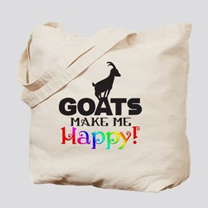 GOATS Make me Happy Tote Bag