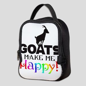 GOATS Make me Happy Neoprene Lunch Bag