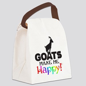 GOATS Make me Happy Canvas Lunch Bag