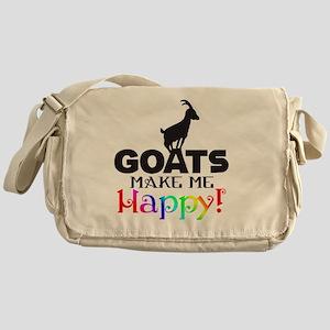 GOATS Make me Happy Messenger Bag