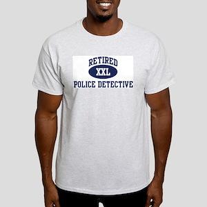 Retired Police Detective Light T-Shirt