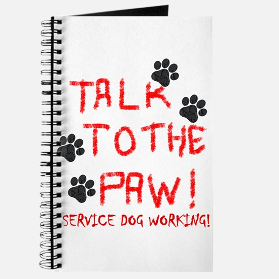SERVICE DOG PAW Journal