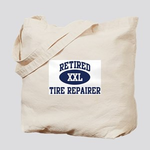 Retired Tire Repairer Tote Bag