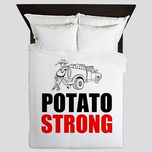 Potato Strong Queen Duvet
