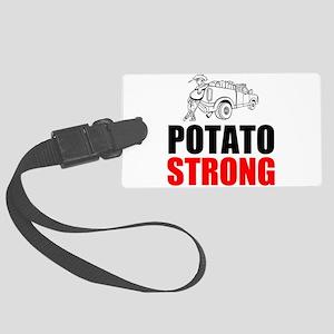 Potato Strong Luggage Tag