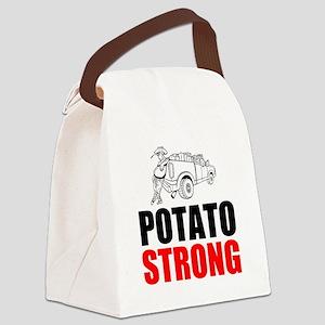 Potato Strong Canvas Lunch Bag