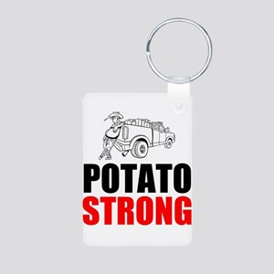 Potato Strong Keychains