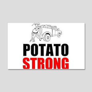 Potato Strong Wall Decal