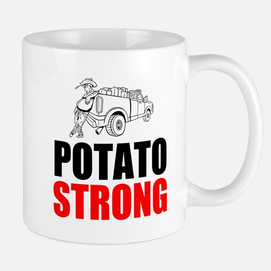 Potato Strong Mugs