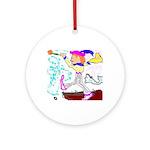 Tarot Fool Ornament (Round)