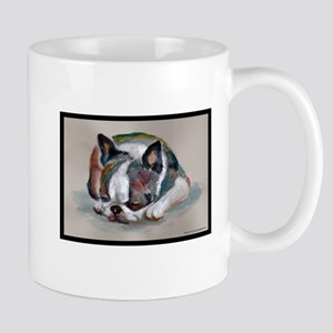 Sleeping Boston Terrier Mug