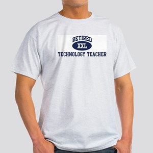 Retired Technology Teacher Light T-Shirt