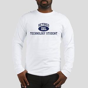 Retired Technology Student Long Sleeve T-Shirt