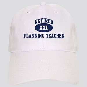 Retired Planning Teacher Cap