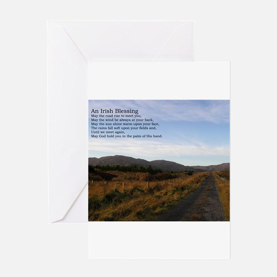 Cute Ireland landscapes Greeting Card