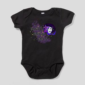 Mardi Gras 2015 Baby Bodysuit