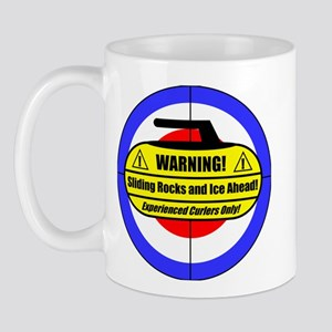 """""""Warning! Sliding Rocks..."""" Mug"""