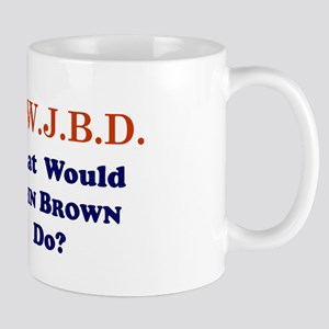 What Would JOHN BROWN Do Mug