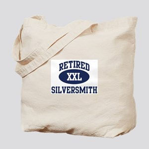 Retired Silversmith Tote Bag