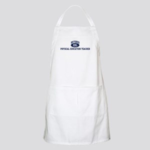 Retired Physical Education Te BBQ Apron
