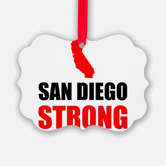 San Diego Strong Ornament