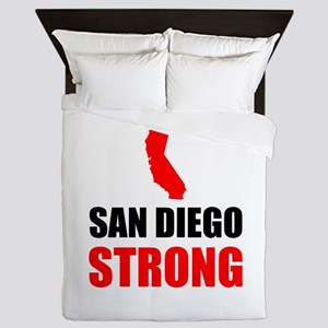 San Diego Strong Queen Duvet