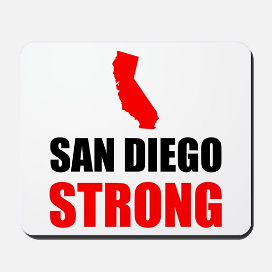San Diego Strong Mousepad